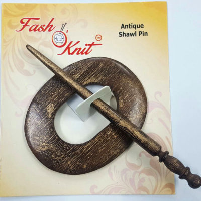 oval shape mango wood shawl pins